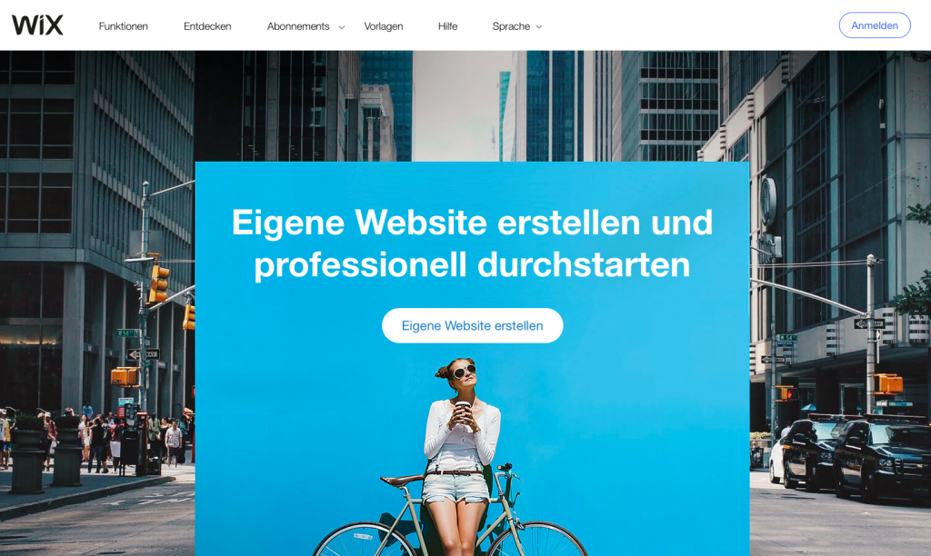 wix wordpress alternative